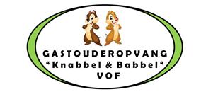 Gastouderopvang Knabbel en Babbel Heerlen logo
